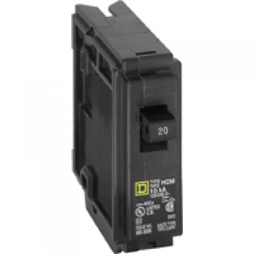 Square D HOM120CP Homeline Single Pole Circuit Breaker