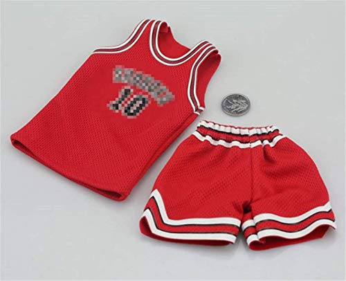 ZSMD 1/6 Scale Male Figure Doll Clothes, Basketball Clothes Suit for 12 inch Action Figure HS013 (Basketball Clothes)