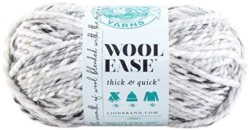 Lion Brand Yarn Company Filo di Lana, Grigio