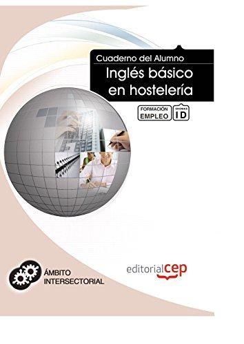 Cuaderno Alumno Inglés básico hostelería. Formación