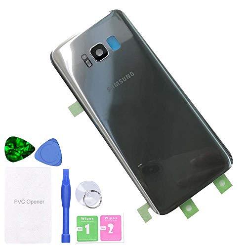 MovTEK Tapa Trasera Bateria de Cristal Trasero Original para Samsung Galaxy S8...