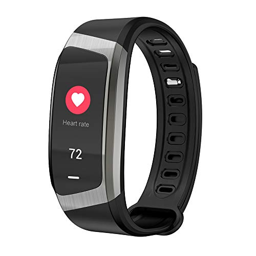 FengshuAI Fitnesstracker, modieus smart armband, stappenteller, GPS-tracker, hartslagfrequentie, bloeddrukbewaking, bluetooth, multifunctionele sportarmband