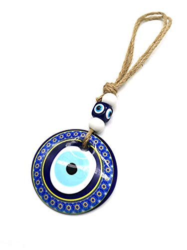Blue Evil Eye Hanging Decoration Turkish Lucky Wall Car Amulet Pendant Home Protection Decor Ornament