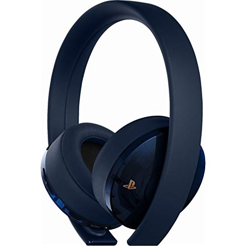 Sony PlayStation 4 Gold Wireless Headset 7.1 Surround Sound 500 Million  - Nintendo Wii; GameCube