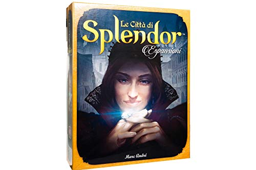 Asmodee Le City di Splendor, Erweiterung des Brettspiels, italienische Ausgabe 8612