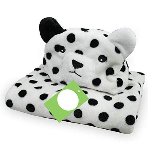 Schattige dieren babybadjas comfortabele baby's deken kinderen hooded badjas peuter baby badhanddoek kinderen badjas washandje # 8, pj3589g