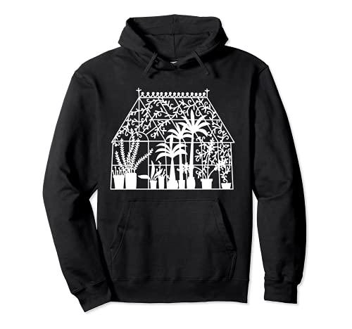 Gewächshäuser-Garten-Design Pullover Hoodie