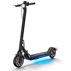 urbetter Electric Scooters Adults Folding E Scooter 25km Long Range 8.5'' Honeycomb Explosion-Proof Tire 350w Electric Scooter with APP Control, Kugoo ES2
