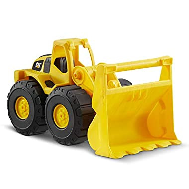 CatToysOfficial Wheel Loader Toy Construction Vehicle, Yellow