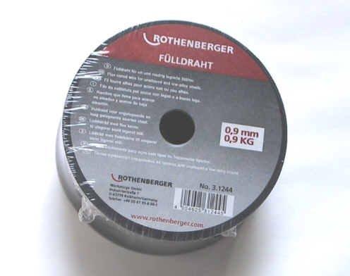 Preisvergleich Produktbild Fülldraht 0, 9mm 0, 9 Kg von Rothenberger für Güde Fimer