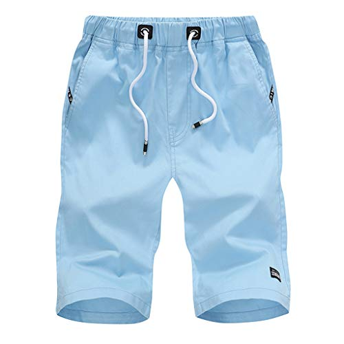 2021 Nuevo Pantalones Cortos Hombre Verano Casual Moda Deporte Running Pants Jogging Original Color sólido Algodón Cortos Pantalon Fitness Gym Suelto Ropa de Hombre Cómodo Pantalones de Playa Shorts