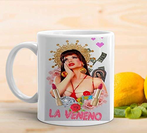 adaysusdetalles La Veneno Cristina Taza Desayuno Regalo Cafe Veneno