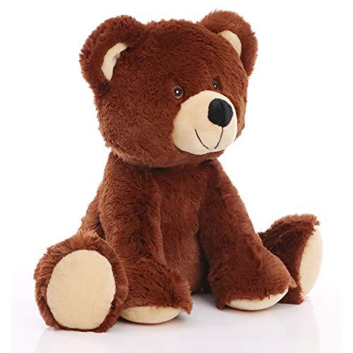 Minifeet RecycelBär - nachhaltiges Kuscheltier Teddybär aus 100% recycelten PET-Flaschen - Plüsch Spielzeug - Geschenk für Kinder Baby Mädchen Junge Geburt Geburtstag - kuschelig weich