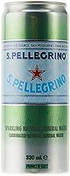 San Pellegrino Sparkling Water, 330 ml (Pack of 8)