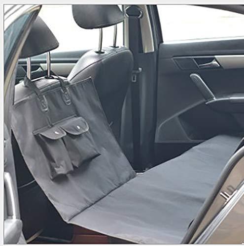 Funda impermeable para asiento de perro, funda doble para asiento de coche, antideslizante y resistente a los arañazos