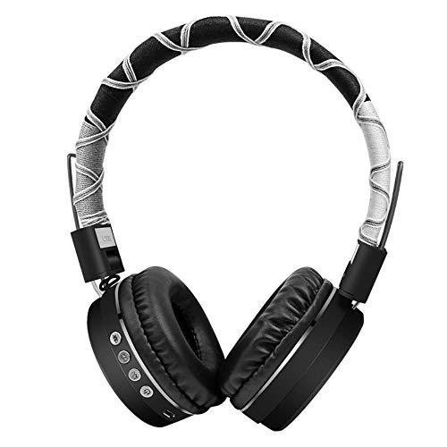 Mazu Homee Auriculares de juego, auriculares deportivos Bluetooth, auriculares inalámbricos para juegos de ordenador, aplicables a PC y PlayStation