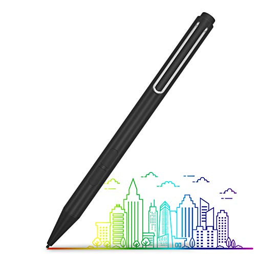 Surface Pen,XIIVIO Active Stylus Pen with Palm Rejection,1024 Levels of Pressure Sensitivity and Aluminum Body Compatible with Microsoft Surface Pro 7/6,Surface Laptop 3,Surface Book Go