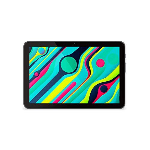 SPC Gravity Pro (2nd Gen) - Tablet de 10,1' HD IPS, hasta 12 Horas de autonomía, procesador a 2,0GHz de 12nm, 3GB de RAM, 32GB de Memoria ampliables, rápido WiFi5, USB-C, Color Negro