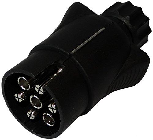 AERZETIX: Enchufe 7 pin macho toma conectador de remolque 7 broches 12V 7mm enganche haz cablea cableado luces traseras stop