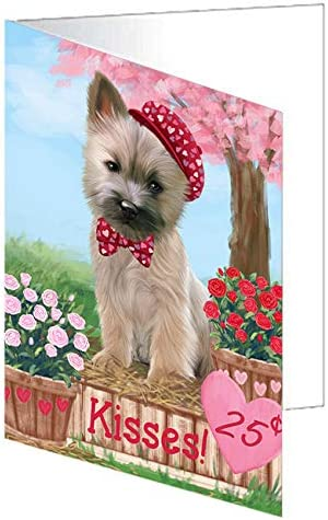 Rosie 25 Outlet ☆ Free Shipping Cent Kisses Cairn Terrier 2 Greeting Dog Miami Mall GCD72344 Card