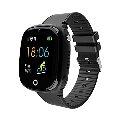 ZBY HW11 Windows Smart Watch Smart Children's Teléfono with with GPS Tracker Posicionamiento Impermeable Smart Watch Regalo De Los Niños,A