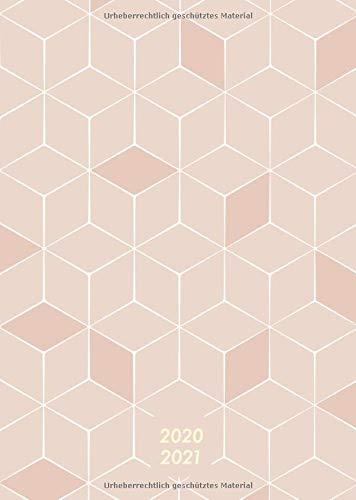 Wochenplaner 2020-2021 A5: Juli 2020 bis Juni 2021, modernes Apricot Pattern Cover Design, Wochen- und Monatsplaner, 1 Woche auf 2 Seiten, 12 Monate, 15x21 cm (Bürobedarf 2020-2021, Band 4)