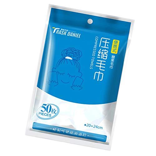 oshhni 50x Tabletas Toallitas de Limpieza Toallitas de Secado Tabletas Toallas Píldoras