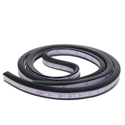 Utoolmart Regla flexible de 90 cm para dibujo de ingeniería, gráficos de diseño, diseño de ropa, 1 unidad