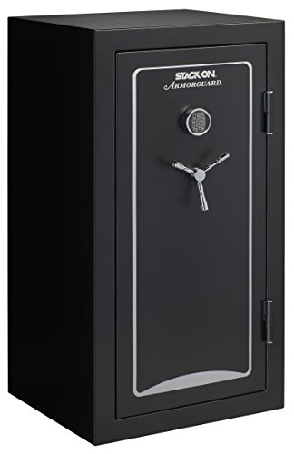 Stack-On A-40-MB-E-S Armorguard 40-Gun Safe with Electronic Lock