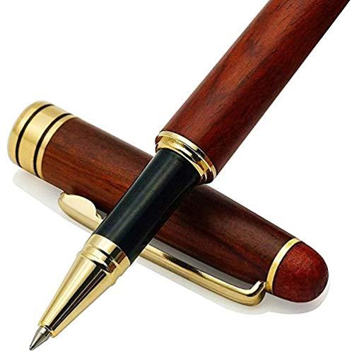 ボールペン 高級 おしゃれ 木製 プレゼント 父の日/就職祝い/卒業祝い/母の日/記念品など 筆記用具文房具 贈り物 高級ケース付き 替芯付き