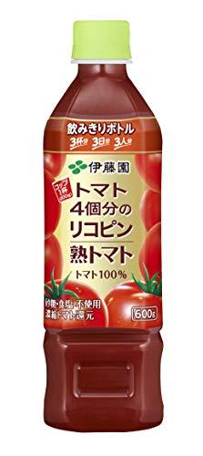 伊藤園 トマト4個分のリコピン 熟トマト 600g ×24本