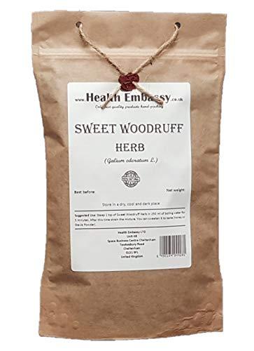 Health Embassy Waldmeister Kraut Tee (Galium Odoratum L) / Sweet Woodruff Herb Tea, 100g