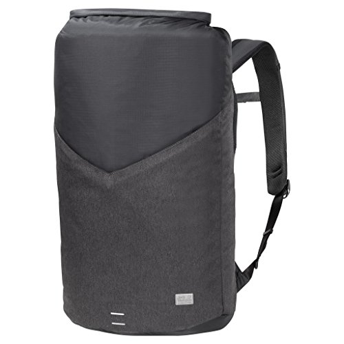 Jack Wolfskin Wool Tech Gym Pack Alltag Daypack Fitness Sac à Dos, Phantom, Taille Unique Mixte