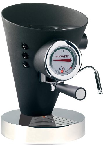 Bugatti DIVA - Espresso Machine Mat Black