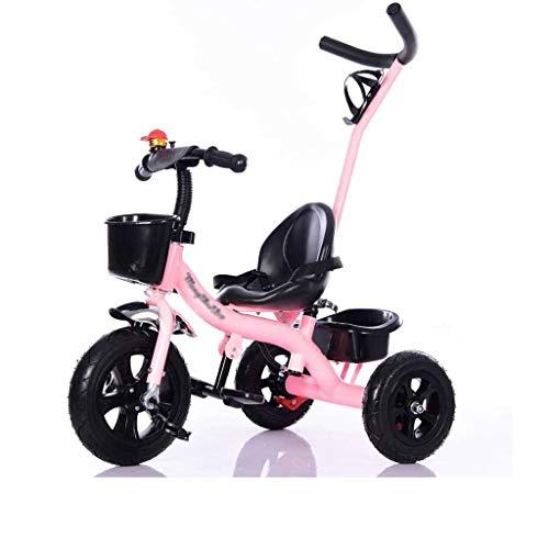Gute Qualität Kinderwagen Buggys Kinder-Dreirad, Fahrrad, 1-5 Jahre Alter Kinderwagen, Babyspielzeug-Trolley, Kinderauto Baby Standardkinderwagen (Color : A)
