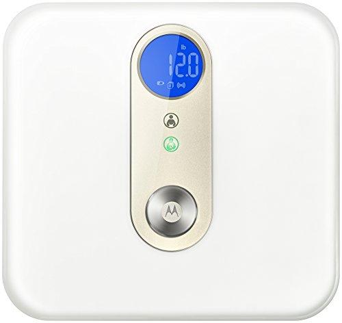 Motorola Smart Nursery Baby & Me Scale - Bluetooth báscula conectada para bebés y por el resto della famiglia, color blanco