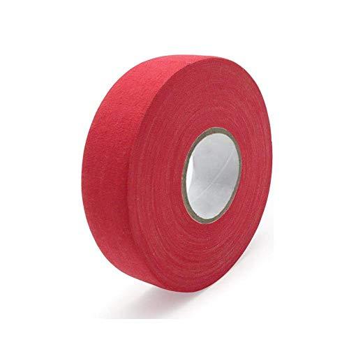 Piaoliangxue Cinta Antideslizante de la Cinta de Hockey/Equipo Protector del Hockey sobre Hielo Tiene Las Funciones de absorción del Sudor Resistencia Antideslizante y Resistencia al Desgaste (Rojo)
