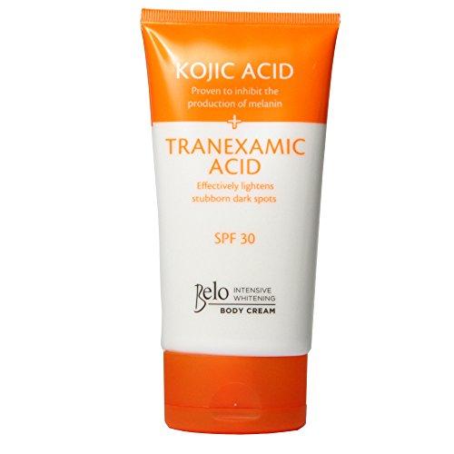 Belo Intensive Whitening Body Cream (Kojic + Tranexamic Acid) with Spf 30 150ml