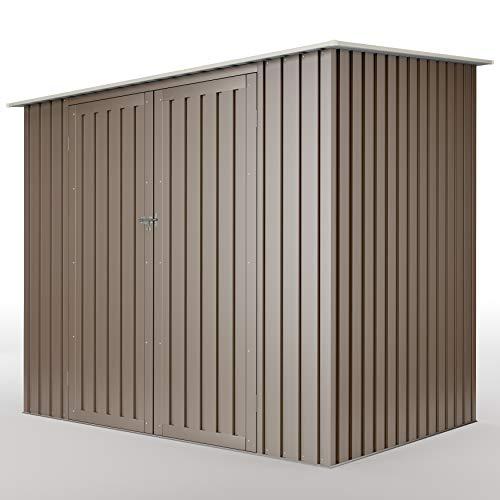 Hoggar by Okoru Armario Metal 3.17m2-10 años de garantía - 213x149x194 cm