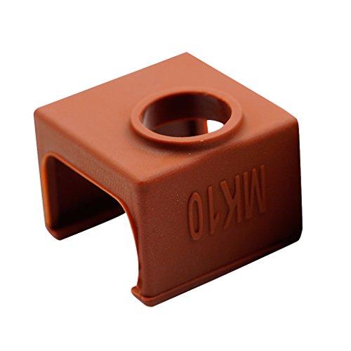 Gazechimp Aluminum Heated Block Silicone Protective Sleeve Cover for MK10 Coffee