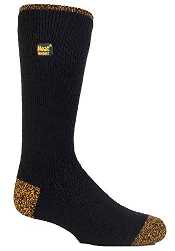 HEAT HOLDERS - Herren 2.3 TOG Dicke Arbeitssocken Funktionssocken Wandern Thermo Socken mit Verstärkter Spitze und Ferse (46-50 EU / 12-14 UK)