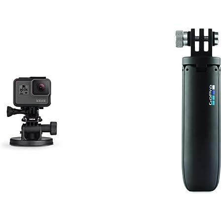 Gopro Front Saugnapfhalterung Shorty Schwarz Kamera