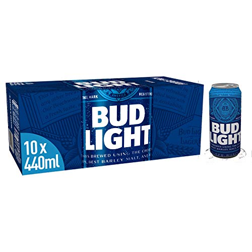 Budweiser Bud Light 10x 440ml - Light Version des beliebten USA