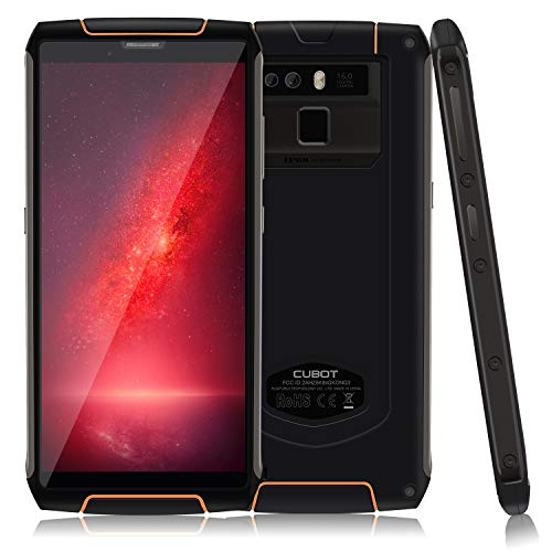 CUBOT KINGKONG 3 Outdoor Smartphone Impermeabile IP68, Batteria 4400mAh, Carica Parida 9V/2A Dual Sim, Android 8.1, Display 5.5' HD Gorilla, 4GB + 64GB, Fotocamera 16MP/ 2MP + 13MP, 4G Cellulare