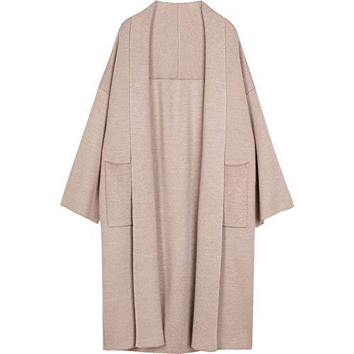 Winter Elegante Winter Jassen Losgebreide Vest Wollen Trui Oversized Extra Zachte High End Vest Breien Jas voor Vrouwen