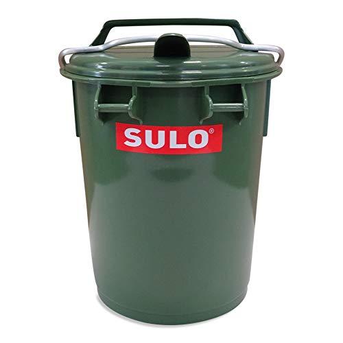 Sulo 35 Liter Systemmülleimer Mülltonne Farbe grün mit Alu-Bügel