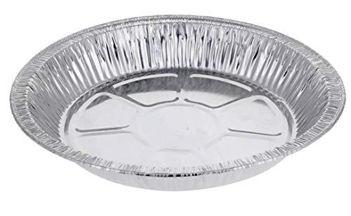 9' Pie Pans (10-pack) - Disposable Aluminum Foil Pie Tins, Standard Size
