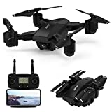 GPS Drone with 1080P HD Camera for Adults,JJRC Pride 5G WiFi FPV Live Video Rc Foldable Drone with 30mins(15+15) Long Flight Time,Rc Quadcopter with Smart Return to Home,Follow me,Altitude Hold