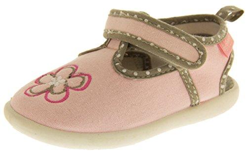De Fonseca Tinello Toile Ouverts À L'arrière D'eté Chaussures Garçons Filles EU 27 Bébé Rose