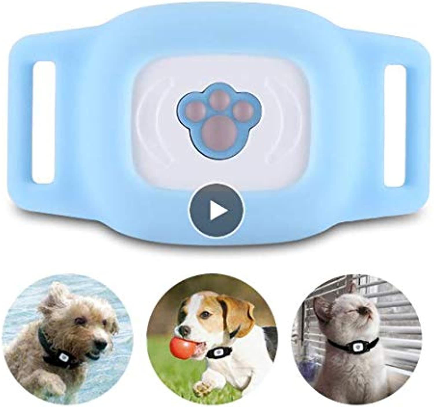 Lizhirui Smart Pet Dog Gps Tracker Finder Wireless blueetooth Gps Locator Waterproof Kid AntiLost Alarm Mini Lbs Tracking Track Collar